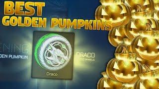 Best Golden Pumpkin Crate Openings On Rocket League
