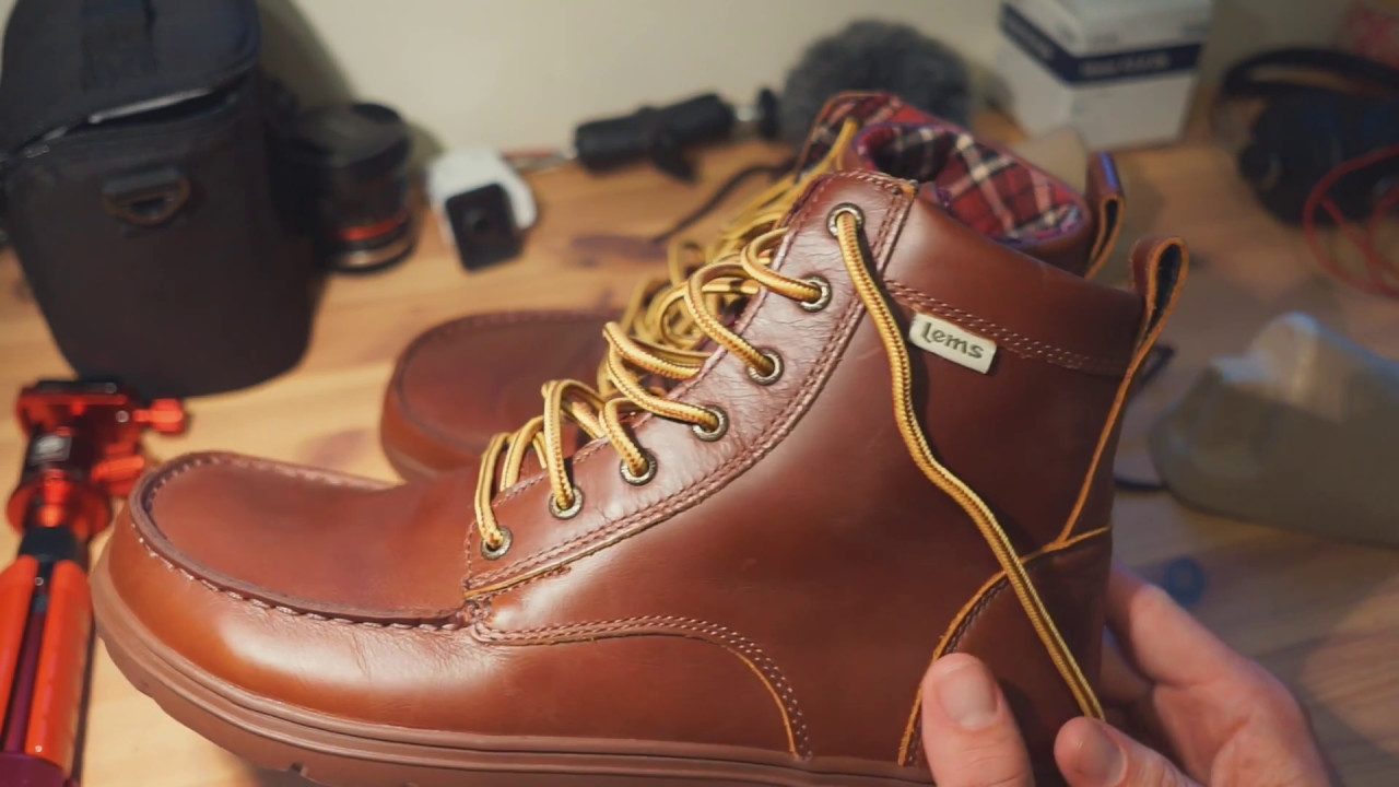 c939d1c8ffd Unboxing Leather Lems Boulder Boot