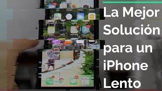 Mi iPhone esta MUUY LENTO (Solución)