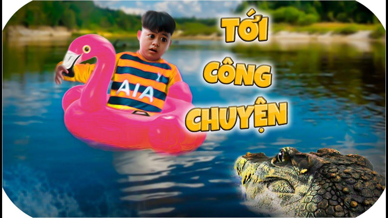 Tony | Troll Cá Sấu Khi A Đại Đang Tắm & Cái Kết