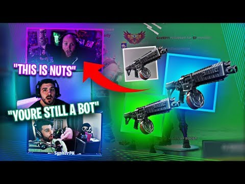 THE *NEW* DRUM SHOTGUN!! IS IT REALLY BROKEN?! FT. NICKMERCS, SYPHERPK & HD - Fortnite Battle Royale