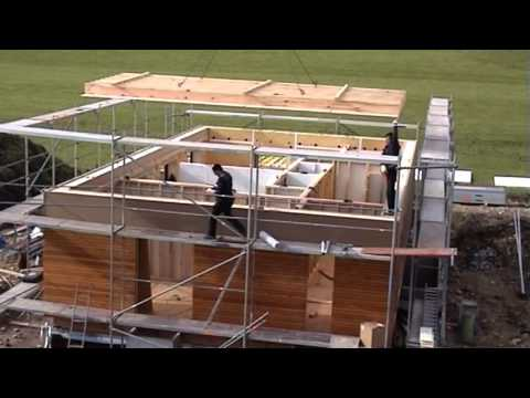 Building a Passive House in 24hrs.