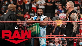 Big E taunts Bobby Lashley and Randy Orton with Money in the Bank contract: Raw, Sept. 13, 2021