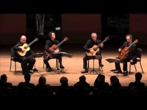LOS ANGELES GUITAR QUARTET  - IN CONCERT - EL AMOR BRUJO (1) PART 1/11