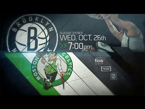 2016-2017 Brooklyn Nets Season Opener Promo