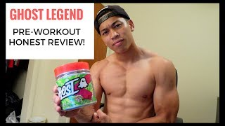 Ghost Legend Pre-Workout Honest Review | Posing Practice