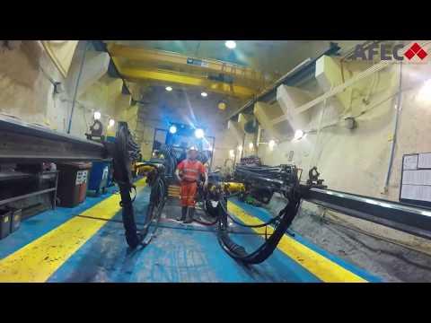 AFEC Engineers assessing Boliden Tara Zinc Mines