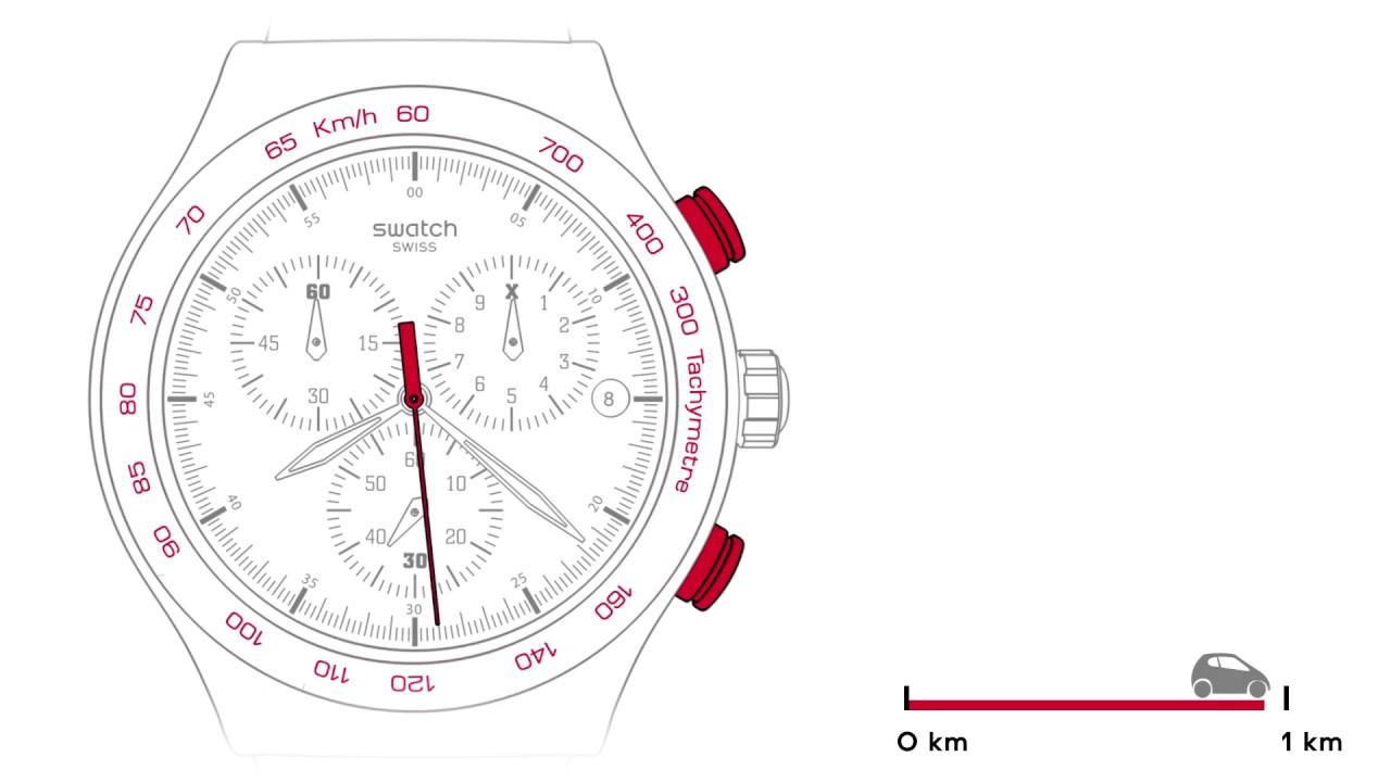 Swatch® Standard Tachymeter España Irony New Chrono Y67mgIfyvb