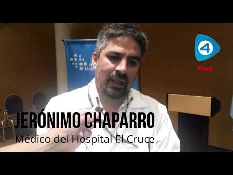 Hospital El Cruce: el doctor Jerónimo Chaparro confirmó una reducción de tareas por 24 horas contra el ajuste