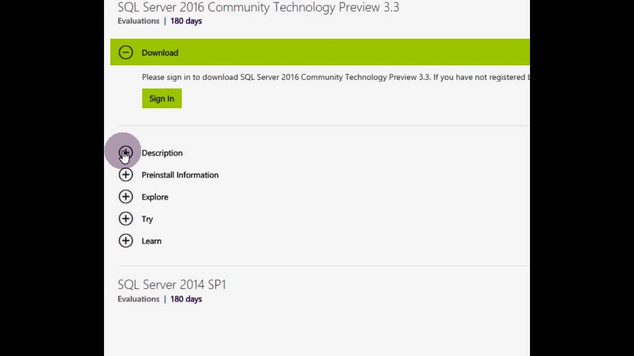 ms sql server 2016 standard iso download