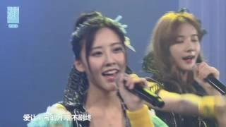 《专属派对》黄婷婷生日公演 SNH48 TeamNⅡ 20161015