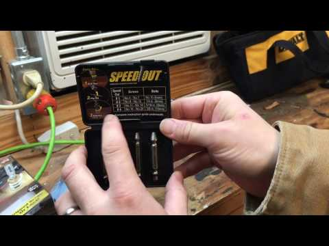 Speed Out (Easy Out) Tool Review