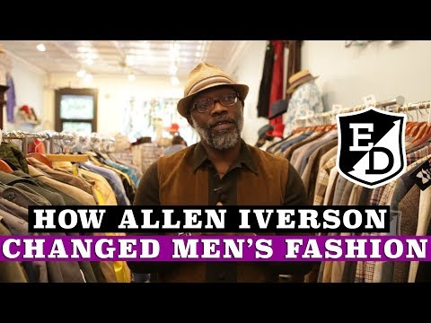 How Allen Iverson changed Men's Fashion- The Allen Iverson Rule