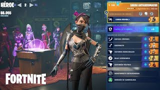 Stamina and Infinite Shield (UnaiiR9) / Sarah Antiarrumacos Fortnite: Saving the World #354