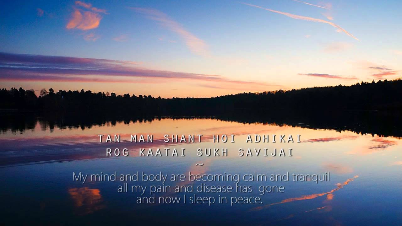mantra to calm mind tan man shaant soothing calming relaxing