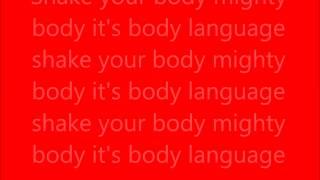 The Jacksons  Body Language (with lyrics)