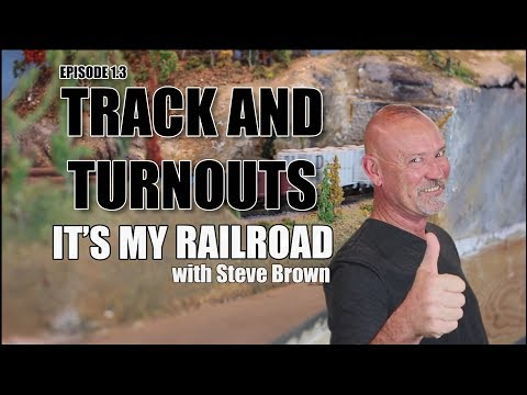 103: Tutorial - Track and turnouts for model railroading layout