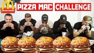 McDonald's Pizza Mac Challenge | Würstchen reinschieben als Strafe