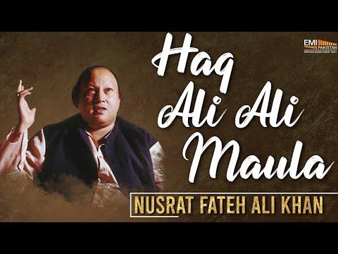 Haq Ali Ali Maula | Nusrat Fateh Ali Khan Songs | Songs Ghazhals And Qawwalis