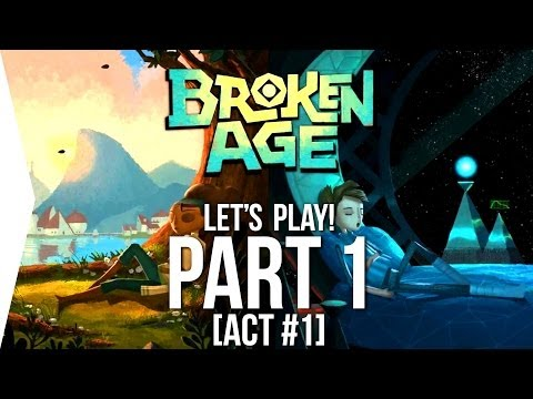 Let's Play Broken Age #1 ► Vella & Shay Starting Out! [Act 1] - Walkthrough/Tutorial