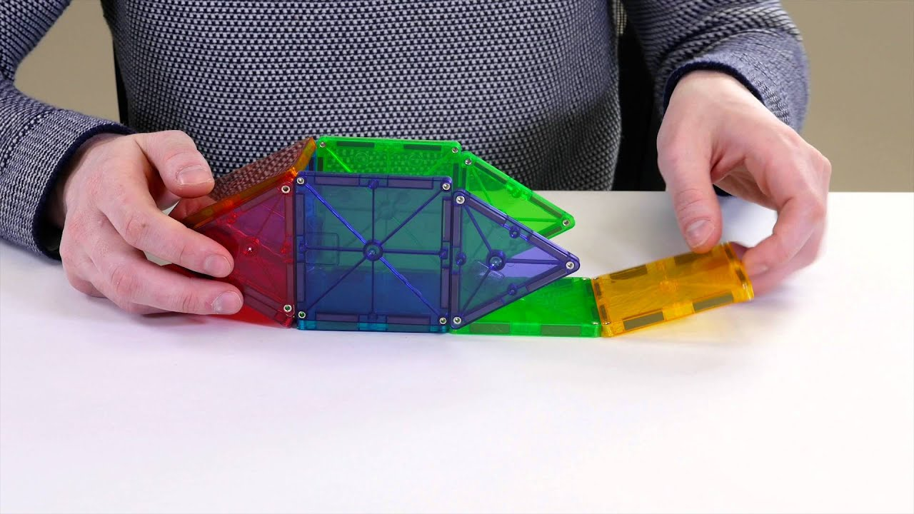 Magna-Tiles Airplane Christmas 2015 Magna-Tiles from Lakeshore Learning  Airplane design Magnetic Bu…   Magnetic building toys, Airplane design,  Building toys