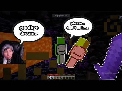 quackity KILLS dream IN PRISON and LEAVES (dream smp)..