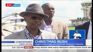 Aerial surveillance throughout the Christmas period