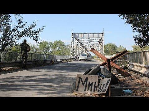 Luhansk struggles after weeks of shelling