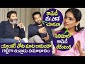 Jr NTR Strong Counter to Anchor Gayathri Bhargavi | Aravinda Sametha Interview | Top Telugu TV