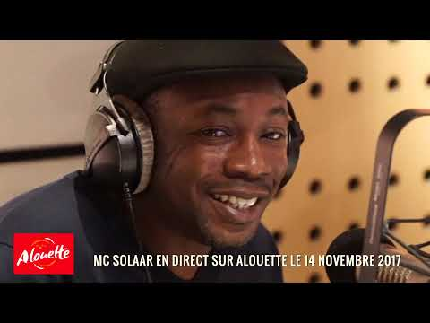 Mc Solaar en direct sur Alouette entre 7h...