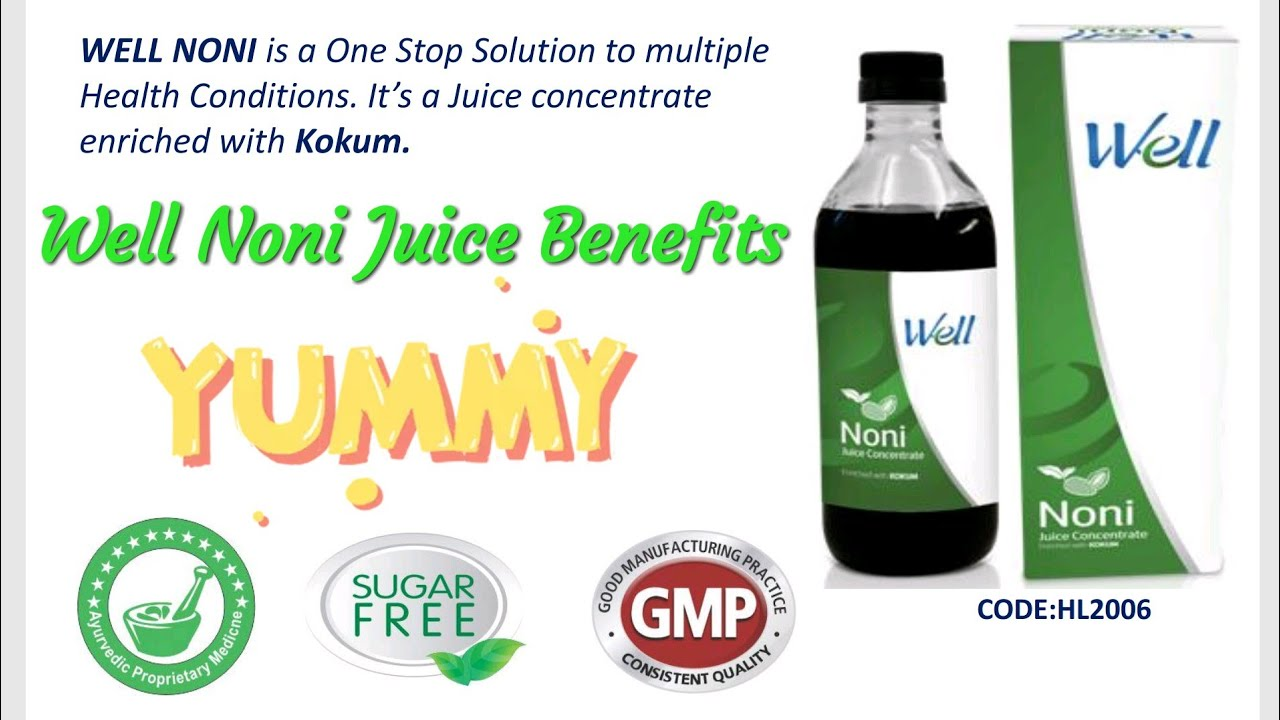 modicare | well noni juice | details - youtube