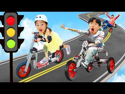 Kids Go To School Ride-On Toy By Boram
