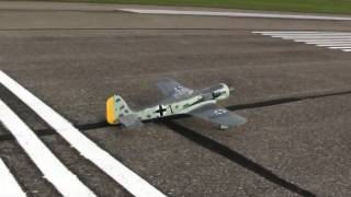 Flyzone Focke-Wulf Fw 190 Review - Part 1, Intro and Flight