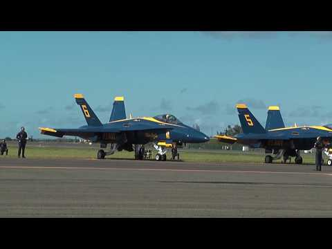 The Blue Angels, Kaneohe Bay Air Show 2010