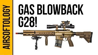 DMR Domination! - G28 Gas Blowback Rifle | Airsoftology Sneak Peek Review