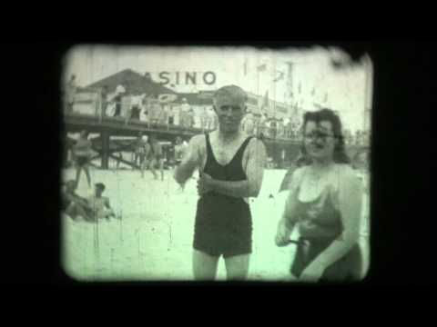 Seaside Heights NJ 1940's Home Movies of the Casino Pool, Boardwalk & Beach