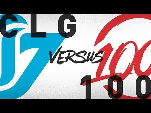CLG vs. 100 - Week 1 Day 2 | NA LCS Summer Split | Counter Logic Gaming vs. 100 Thieves (2018)