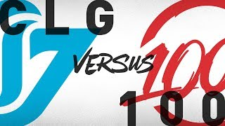 Video CLG vs. 100 - Week 1 Day 2 | NA LCS Summer Split | Counter Logic Gaming vs. 100 Thieves (2018) download MP3, 3GP, MP4, WEBM, AVI, FLV Juni 2018