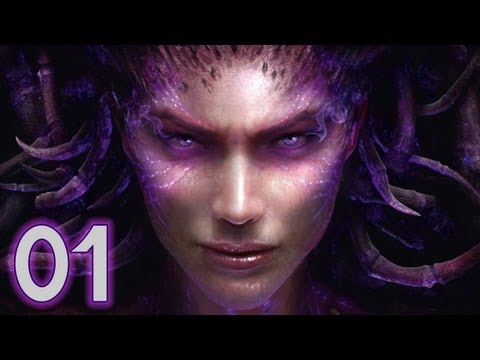 Let's Play StarCraft 2 Heart of the Swarm Kampagne Deutsch Part 1