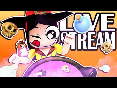 🎃 Roblox LIVE STREAM! - Playing Spoopy Games! - Shark Bite, Flee the Facily, Murder Mystery & MORE!