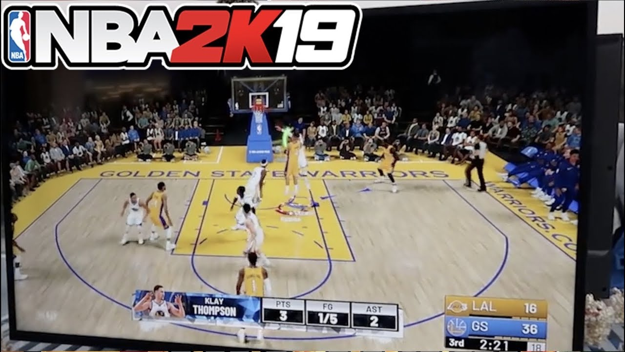 5e8650a0fa50 NBA 2k19 Official Gameplay