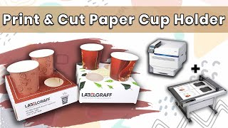 Customized Print and Cut Cup Holders
