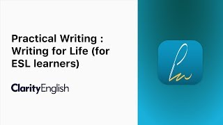 Practical Writing : Writing for Life (for ESL learners) Mp3