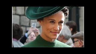 Pippa Middleton presume de embarazo en la boda de Eugenia de York y Jack Brooksbank