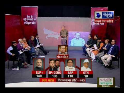Tonight with Deepak Chaurasia: Exit Polls by nation's prominent journalists | Part 2