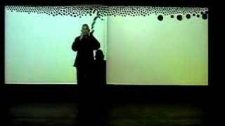 Jaap Blonk performance - installation Messa di Voce