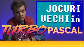 Jocurile mele vechi in Turbo PASCAL 🕹️
