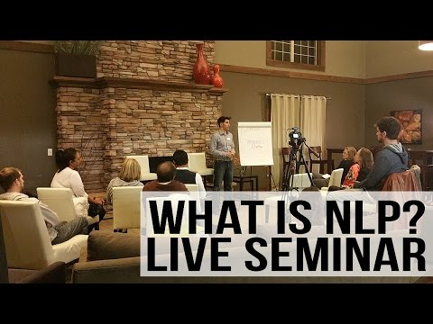 FREE NLP Training - Live Seminar with Demonstrations