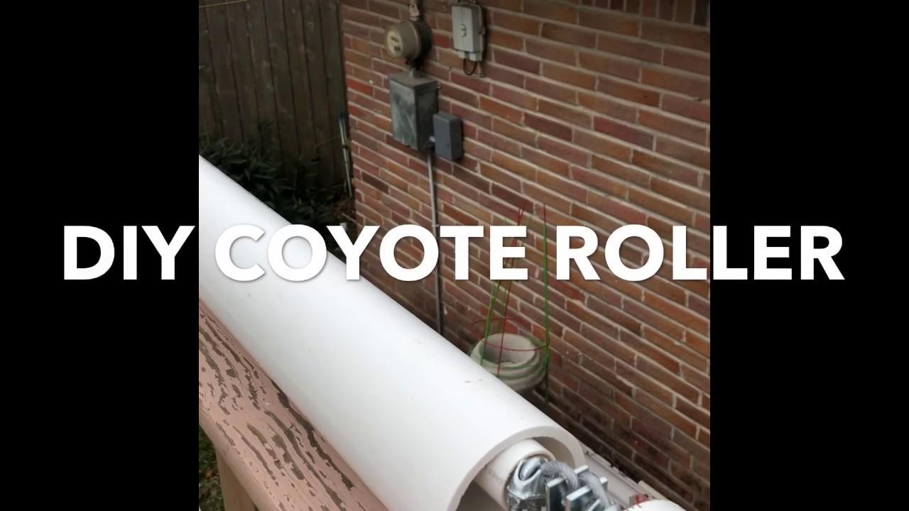 Diy Coyote Roller Animal Deterrent
