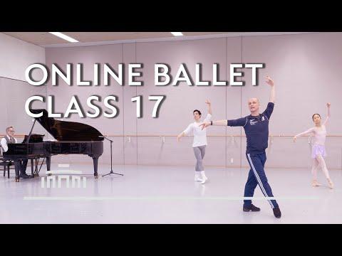 Online Ballet Class 17 with Ernst Meisner - Dutch National Ballet